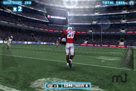 Screenshot 1 for Backbreaker Football