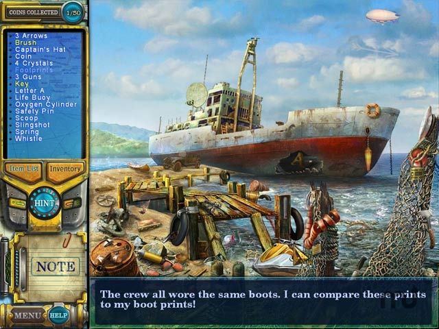 Screenshot 1 for Pathfinders: Lost at Sea