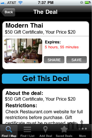 Screenshot 3 for The Dealmap