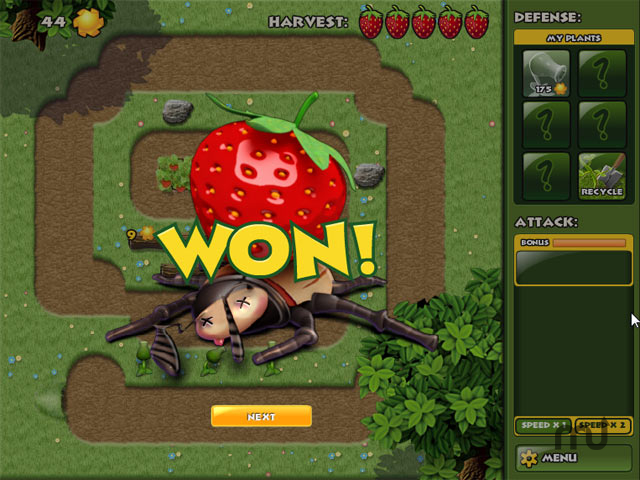 Screenshot 1 for Garden Panic