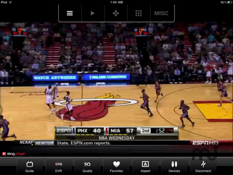 Screenshot 2 for SlingPlayer Mobile for iPad