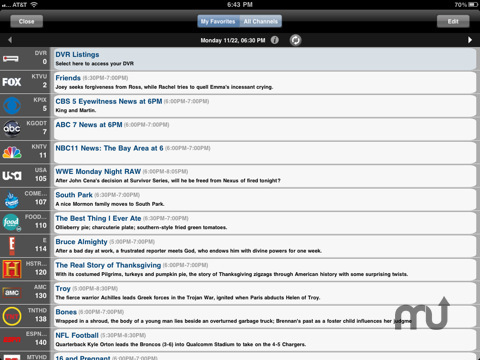 Screenshot 3 for SlingPlayer Mobile for iPad
