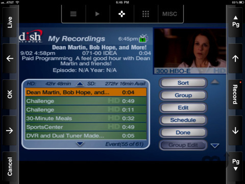 Screenshot 4 for SlingPlayer Mobile for iPad