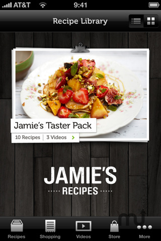 Screenshot 1 for Jamie\'s Recipes
