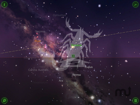Screenshot 2 for Star Walk for iPad