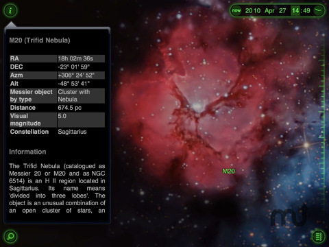 Screenshot 4 for Star Walk for iPad