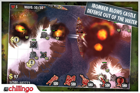 Screenshot 1 for iBomber Defense