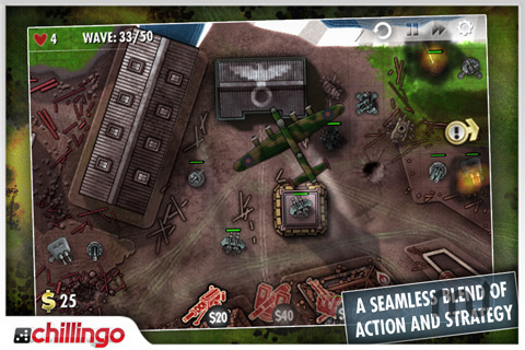 Screenshot 3 for iBomber Defense