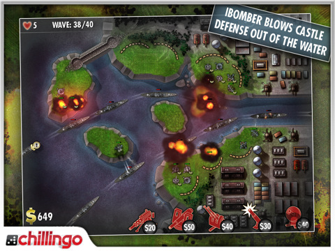 Screenshot 7 for iBomber Defense