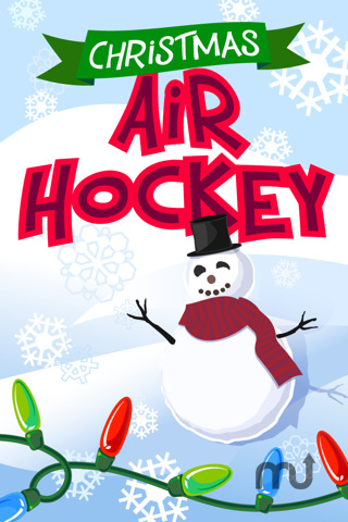 Screenshot 1 for Christmas Air Hockey