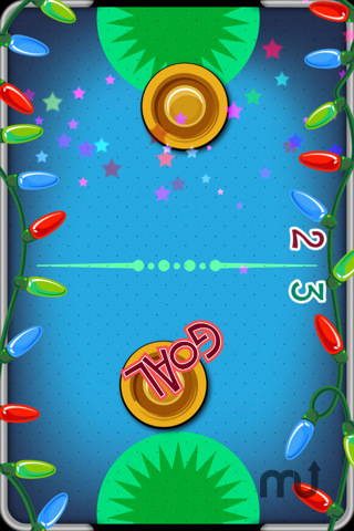 Screenshot 2 for Christmas Air Hockey
