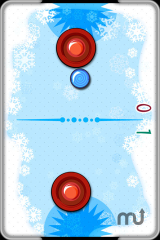 Screenshot 4 for Christmas Air Hockey