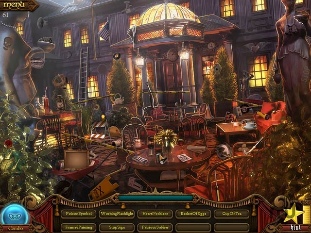 Screenshot 1 for Millionaire Manor: The Hidden Object Show