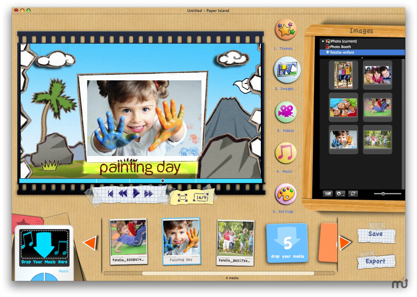 Screenshot 1 for KidsMotion