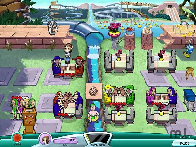 Screenshot 1 for Diner Dash: Seasonal Snack Pack