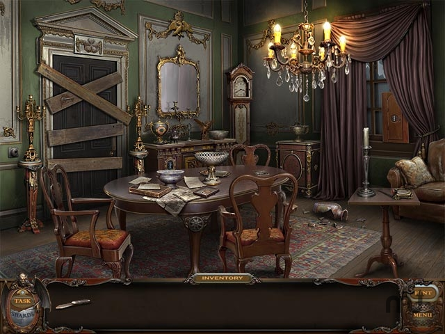 Screenshot 1 for Haunted Manor: Lord of Mirrors Collector's Edition