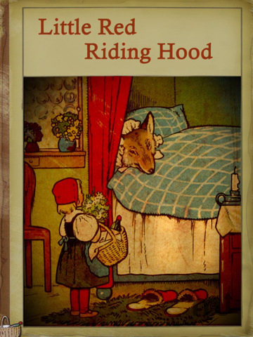 Screenshot 1 for Little Red Riding Hood Interactive Retro Book Series HD