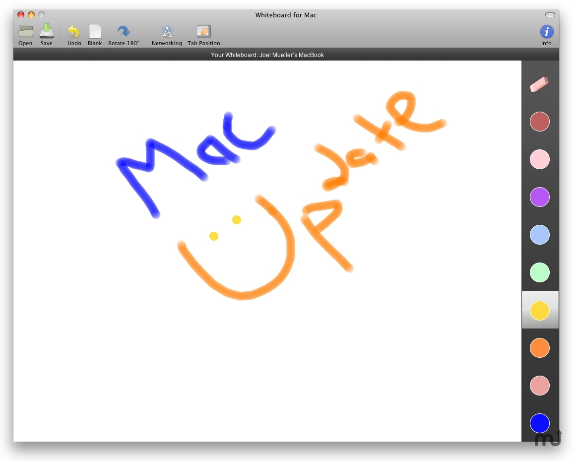 Screenshot 1 for WhiteboardMac
