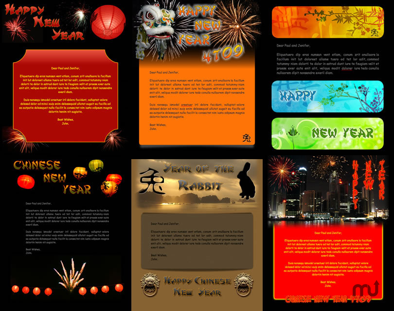 Chinese New Year 4709 Stationery Pack 1.0 purchase for Mac | MacUpdate