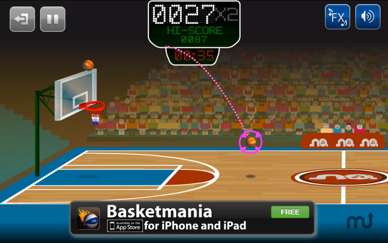 Screenshot 1 for Basketmania