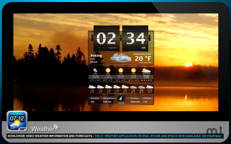 Screenshot 1 for Weather+