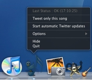 Screenshot 1 for iTweetMyiTunes