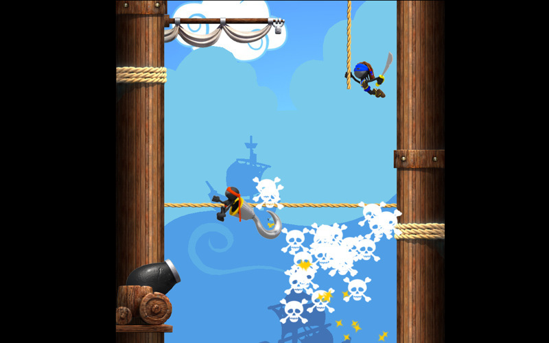 Screenshot 1 for NinJump Deluxe