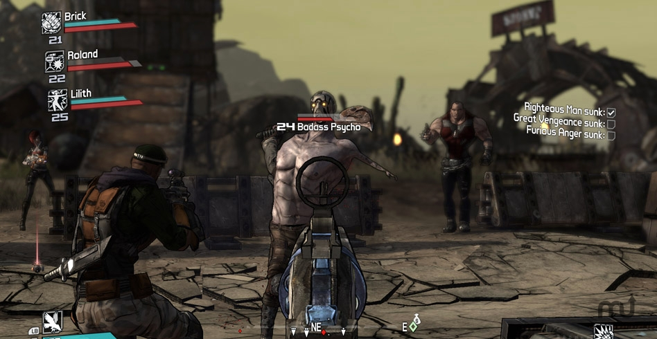 Screenshot 1 for Borderlands Game of the Year