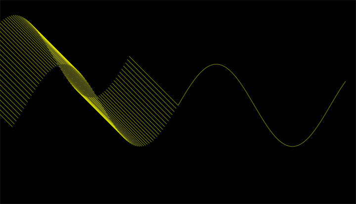Screenshot 1 for Sine Wave Screensaver