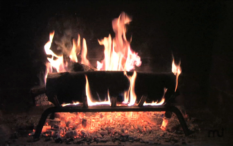 Screenshot 1 for Fireplace