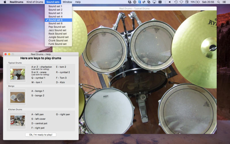 Screenshot 2 for Real Drums