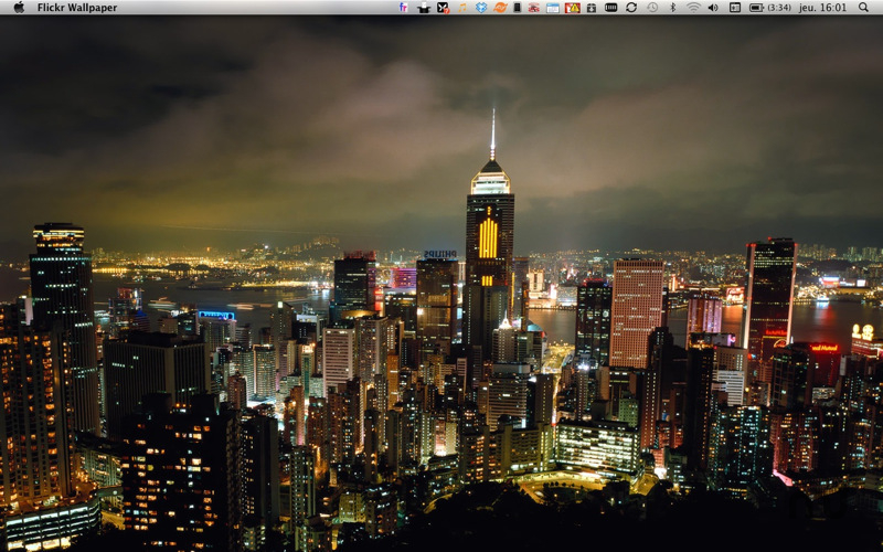 Screenshot 1 for DesktopWallpaper - Flickr Edition