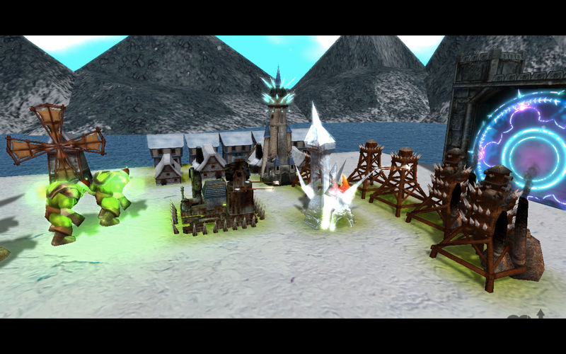 Screenshot 1 for Hordes of Orcs 2
