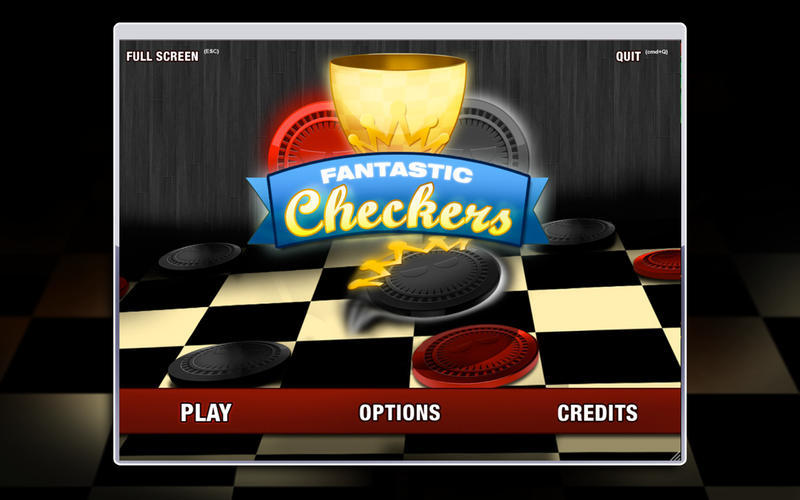 Screenshot 1 for Fantastic Checkers