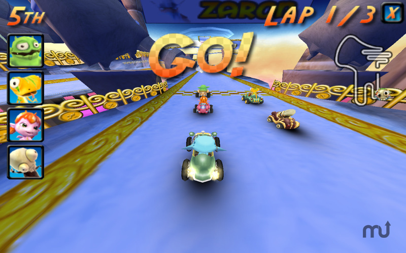 Screenshot 1 for Cocoto Kart Online