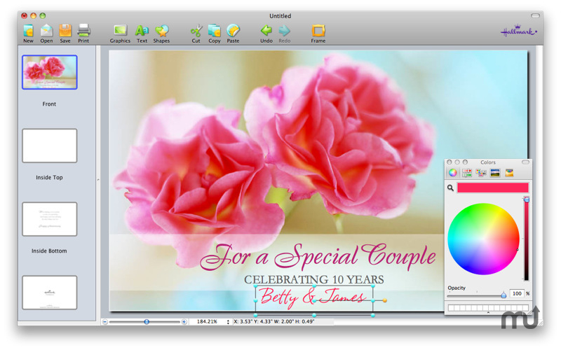 Screenshot 1 for Hallmark Card Studio Essentials