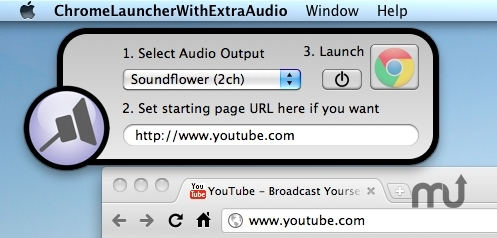 Screenshot 1 for ChromeLauncherWithExtraAudio