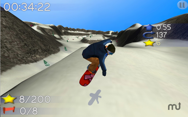 Screenshot 1 for Big Mountain Snowboarding