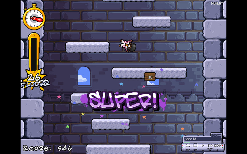 Screenshot 1 for Icy Tower