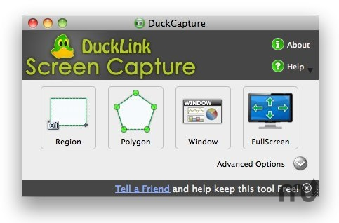 Screenshot 1 for DuckCapture