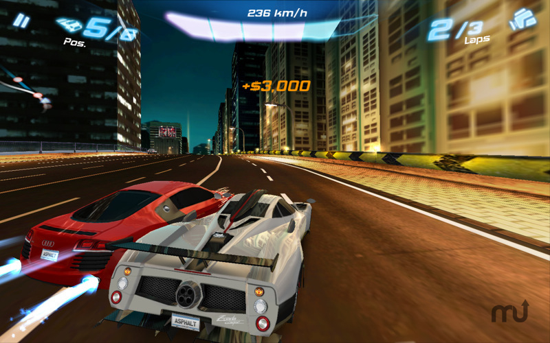 Screenshot 1 for Asphalt 6: Adrenaline