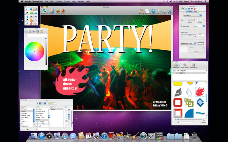 How To Design Poster On Mac:  MacUpdaterh:macupdate.com,Design