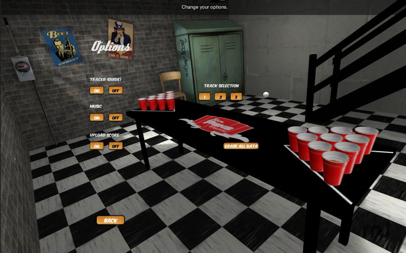 Screenshot 1 for Beer Pong