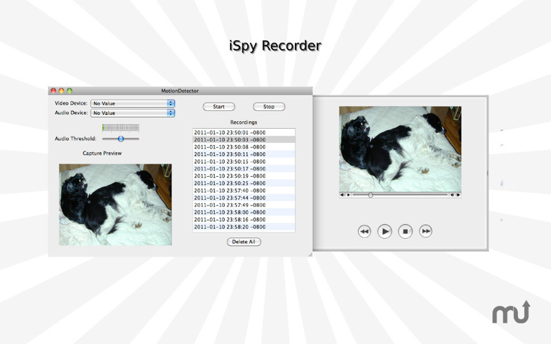 Screenshot 1 for iSpy Recorder