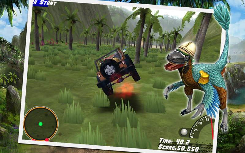 Screenshot 1 for Off-Road Velociraptor Safari
