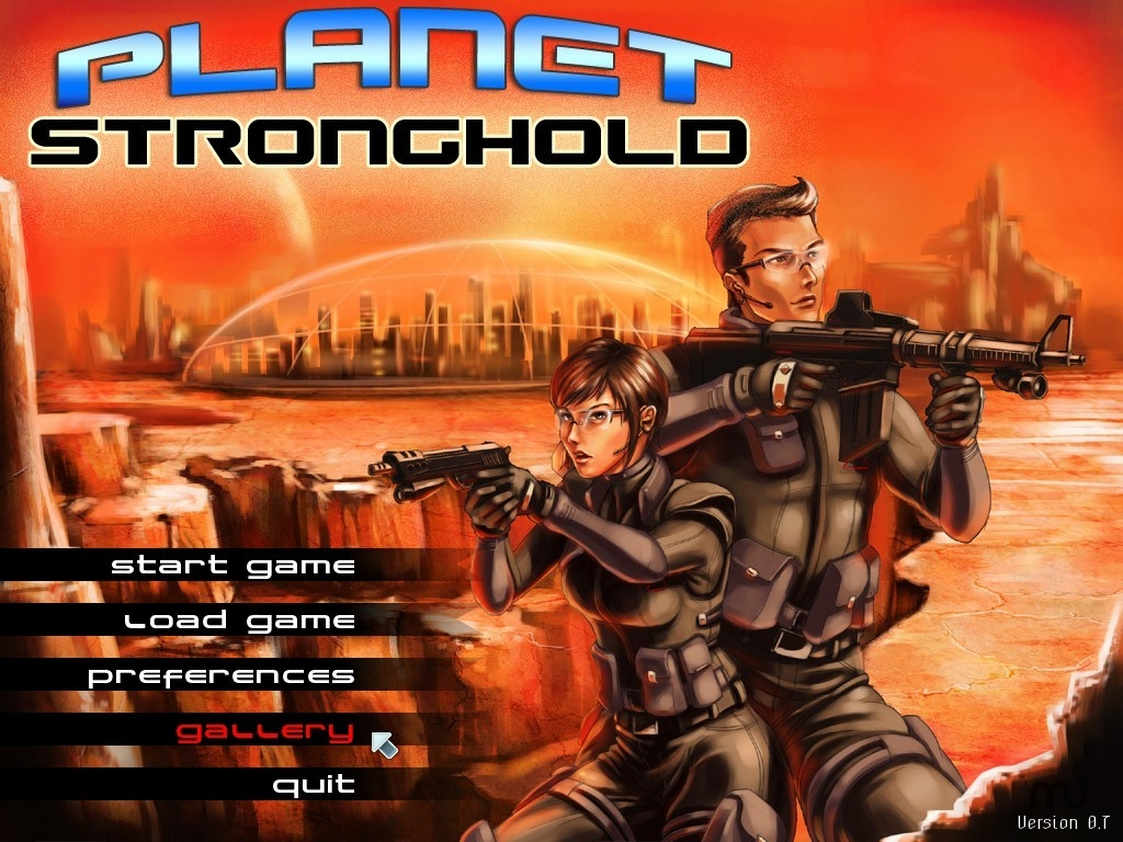 Screenshot 1 for Planet Stronghold