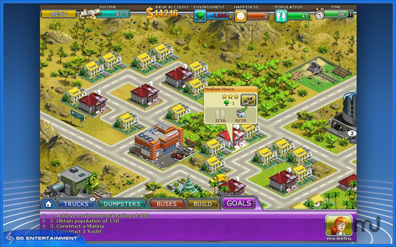 Screenshot 1 for Virtual City