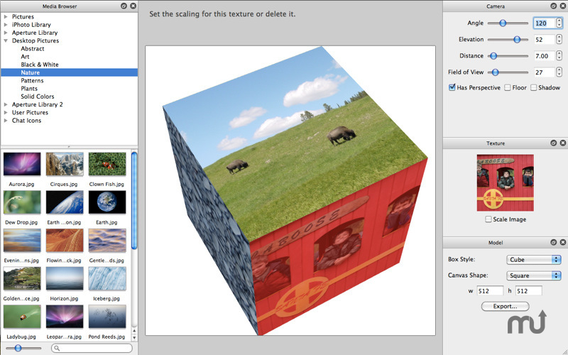 Screenshot 1 for Box Model 3D
