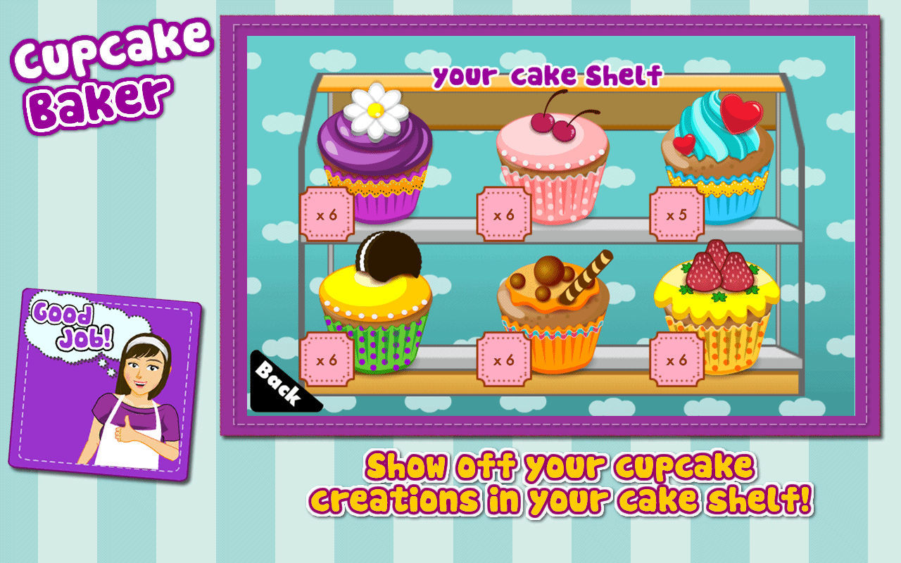 Screenshot 3 for Cupcake Baker