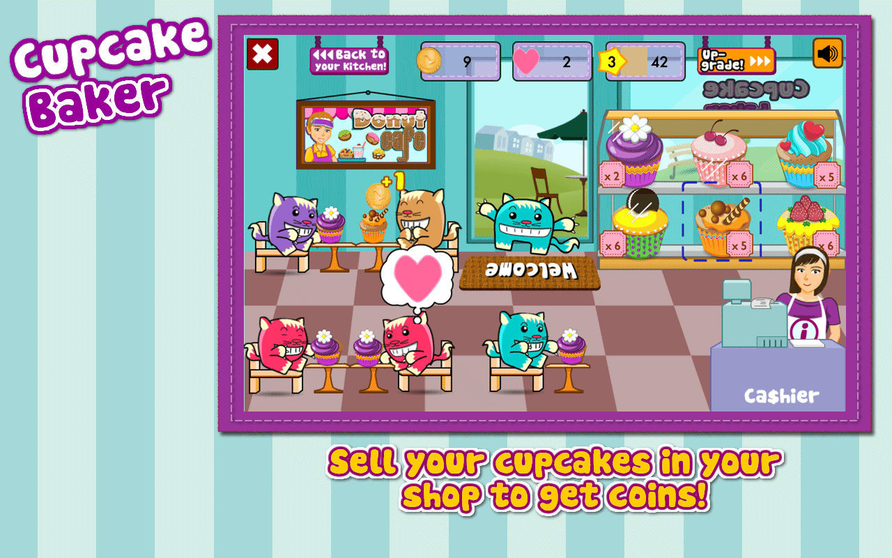Screenshot 4 for Cupcake Baker